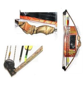 Arco Legend compuesto 10 lb. polimero c/flechas camuflado