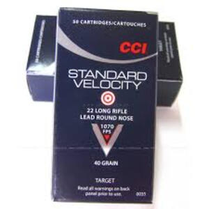 Balas CCI C.22LR STD