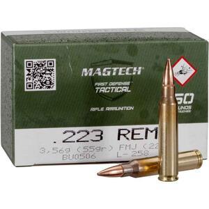 Balas Magtech C.223Rem 55Gr FMC 223A