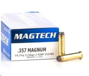 Balas Magtech C.357Mag 158gr Sjhp (357b)