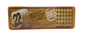 Balas Orbea C.22LR P.S.  A.V.  COBREADA  (100)