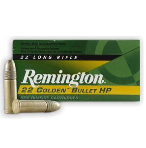 Balas Remington C.22lr  H.V.  P.H. COBREADA  36GR  1622