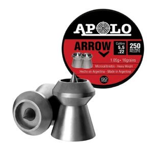 Balines Apolo Arrow lata cal.5.5mm x 250 unidades 19941