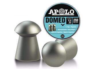 Balines Apolo Domed caja lata cal.5.5mm X 250 unidades 19911