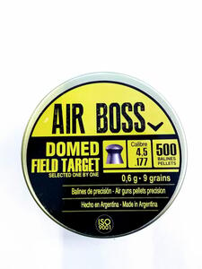 Balines Apolo Domed Field Target lata cal.4.5mm x 500 unidades  30202