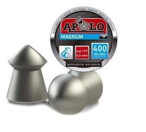 Balines Apolo Magnum lata cal. 4.5mm X 400 unidades 12002/400