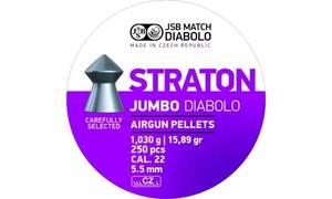Balines Cometa JSB-JUMBO EXACT STRATON 5.5 X 250 15.89gr