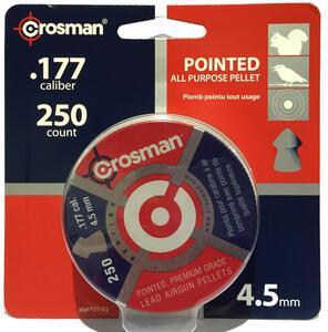Balines Crosman cal. 4,5 mm x 250 unidades P177