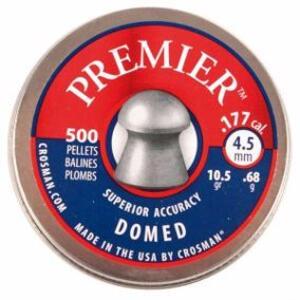 Balines Crosman cal. 4.5 mm x 500 unidades Domed 6 LUM77