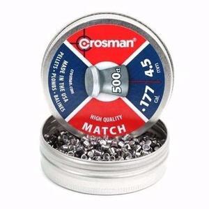 Balines Crosman cal. 4.5 mm x 500 unidades Match 6 LHP77B002