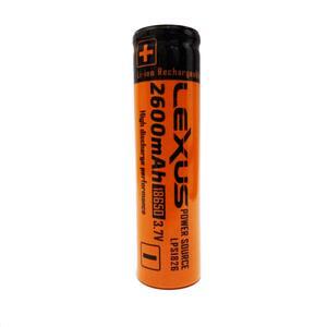 Bateria Lexus Lion 18650 3.7 volts 2600 mah LPS1826