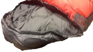 Bolsa de dormir Vortrek MUMMY 400 rojo/gris 220x80X55cm