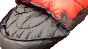 Bolsa de dormir Vortrek MUMMY 500 rojo/gris 220x80X55cm