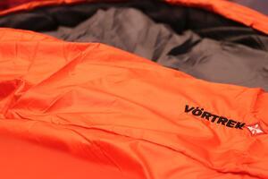 Bolsa de dormir Vortrek NITESTAR 350 naranja/gris 190+40X85cm