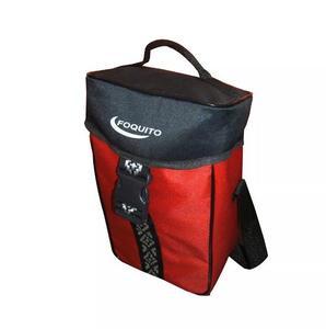 Bolso termico Foquito porta termo premium rojo/negro
