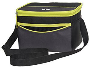 Bolso termico Igloo COLLAPSE & COOL 12 9 lts gris/amarillo