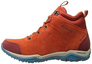 Bota Columbia dama Fire Venture mid waterproof bonfire oxide blue