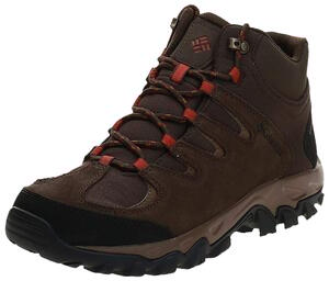 Bota Columbia hombre Buxton Peak Mid Waterproof color Marron