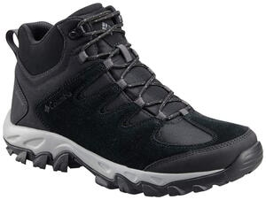 Bota Columbia hombre Buxton Peak Mid Waterproof color Negro