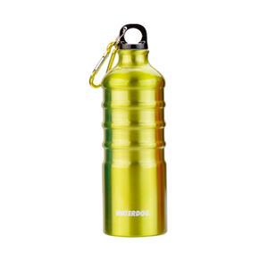 Botella  Waterdog AB1Q100GY Verde limon con mosqueton 1Litro