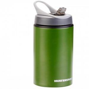 Botella Waterdog Aluminio mod. Ab3075gm 750cc. verde/con pico