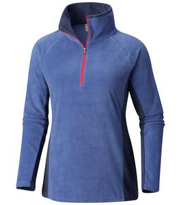 Buzo Columbia d. Glacial IV Half Zip Eve/Nocturnal