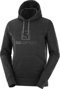 Buzo Salomon Logo LT Hoodie hombre color Negro