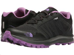 Calzado TNF dama LITEWAVE FASTPACK WP tnf phantom grey/bellflower purple