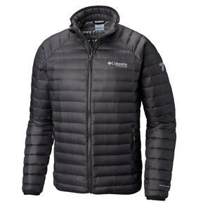 Campera Columbia hombre Alpha Trail Down Jacket color Negro