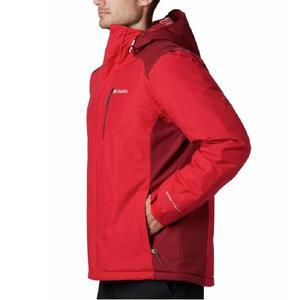 Campera Columbia hombre Tipton Peak Insulated color rojo
