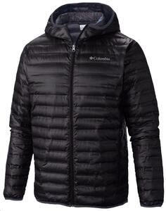 Campera Columbia jh. Flash Forward hooded down negro