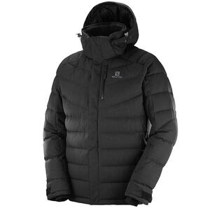 Campera Salomon de nieve impermeable hombre Icetown color negro