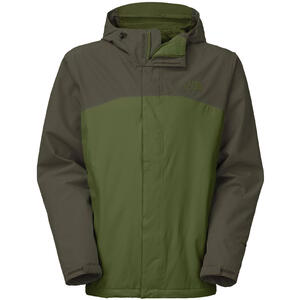 Campera TNF h. ANDEN TRICLIMATE scallion green black ink green