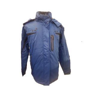Campera Vortrek h. NIEVE SKY 8267 azul negro