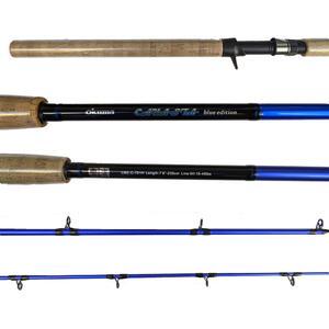 Caña Okuma 2 tramos Cayasta Blue Edition 7,8 pies carbono (BMB) 230 cm