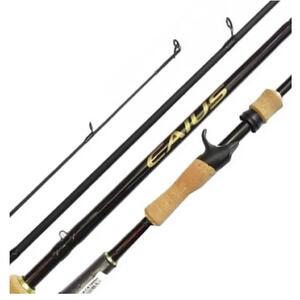 Caña Shimano CAIUS 10-17lbs 2.10mts 1tramo CAC610MH con gatillo