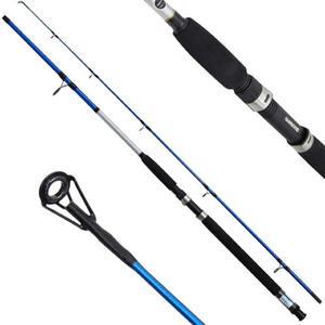 Caña Shimano Cruzar 9 pies CRZAXFGB2902 12-25lbs 2 tramos color azul altura 2.74Cm