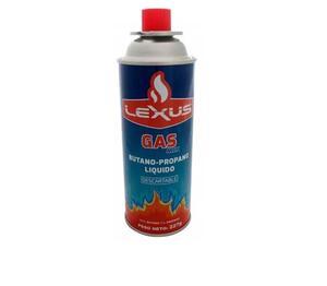 Cartucho de gas butano Lexus 227 gr