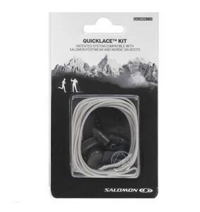 Cordon Salomon Quicklace Kit FTW BK color gris