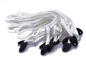 Esposas de cordon HOUSTON descartables x 10 - 110C