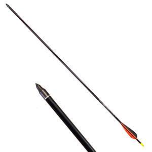 "Flecha Archery Research azul aluminio 30"" punta intercambiable"