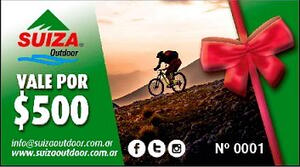 Gift Card Suiza Outdoor X $ 500