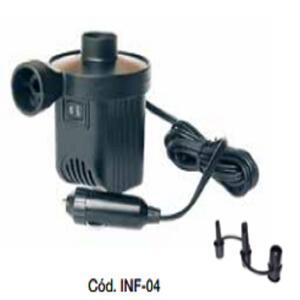 Inflador Broksol 12 volts INF-04 incluye 3 picos
