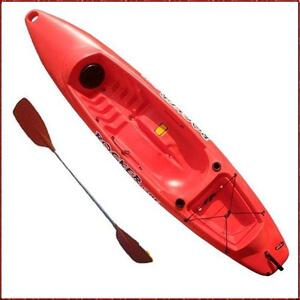 Kayak ROCKER ONE naranja c/ remo