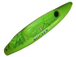 Kayak ROCKER ONE verde manzana c/ remo