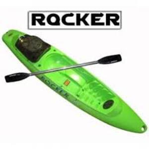 Kayak ROCKER WAVE verde c/ remo