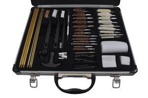 Kit Limpieza Winchester 62 piezas PARA TODO CALIBRE estuche de aluminio 38126