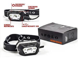 Linterna de cabeza Apolo L3 200 Lumenes
