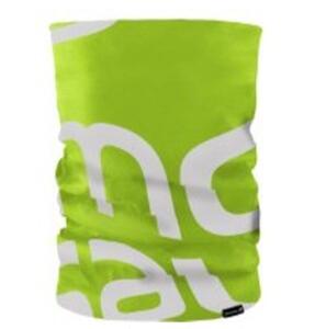 Pañuelo multiuso Salomon Neck Tube Gecko green/white 40128