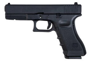 Pistola CO2 Saigo 17 BLOWBACK corredera de metal Calibre 6MM